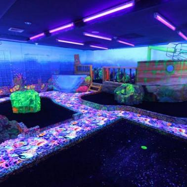 Sky experience adventuremelvins reef black light mini golf love this item share it to your friends mozeypictures Gallery